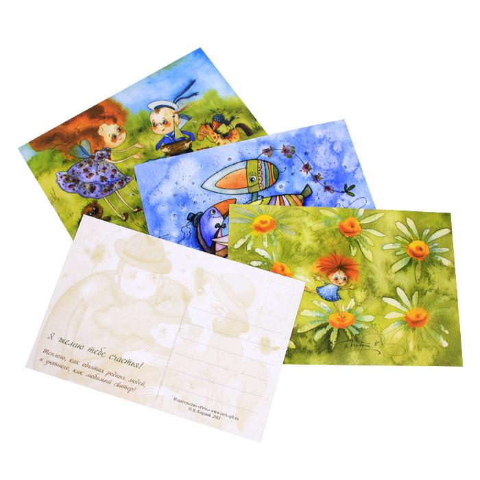 Виктория кирдий наборы открыток