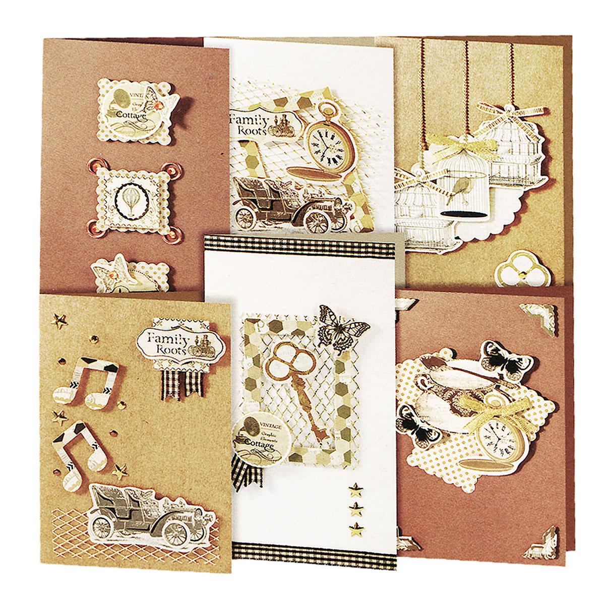 Наборы открыток техника