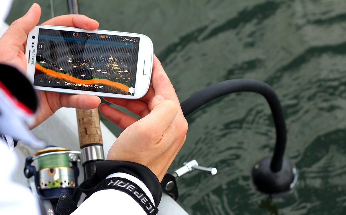 Эхолот Deeper Smart Fishfinder для рыбалки в Златоусте