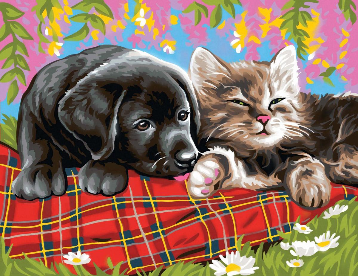 порадует открытка семья собака фото справа, когда