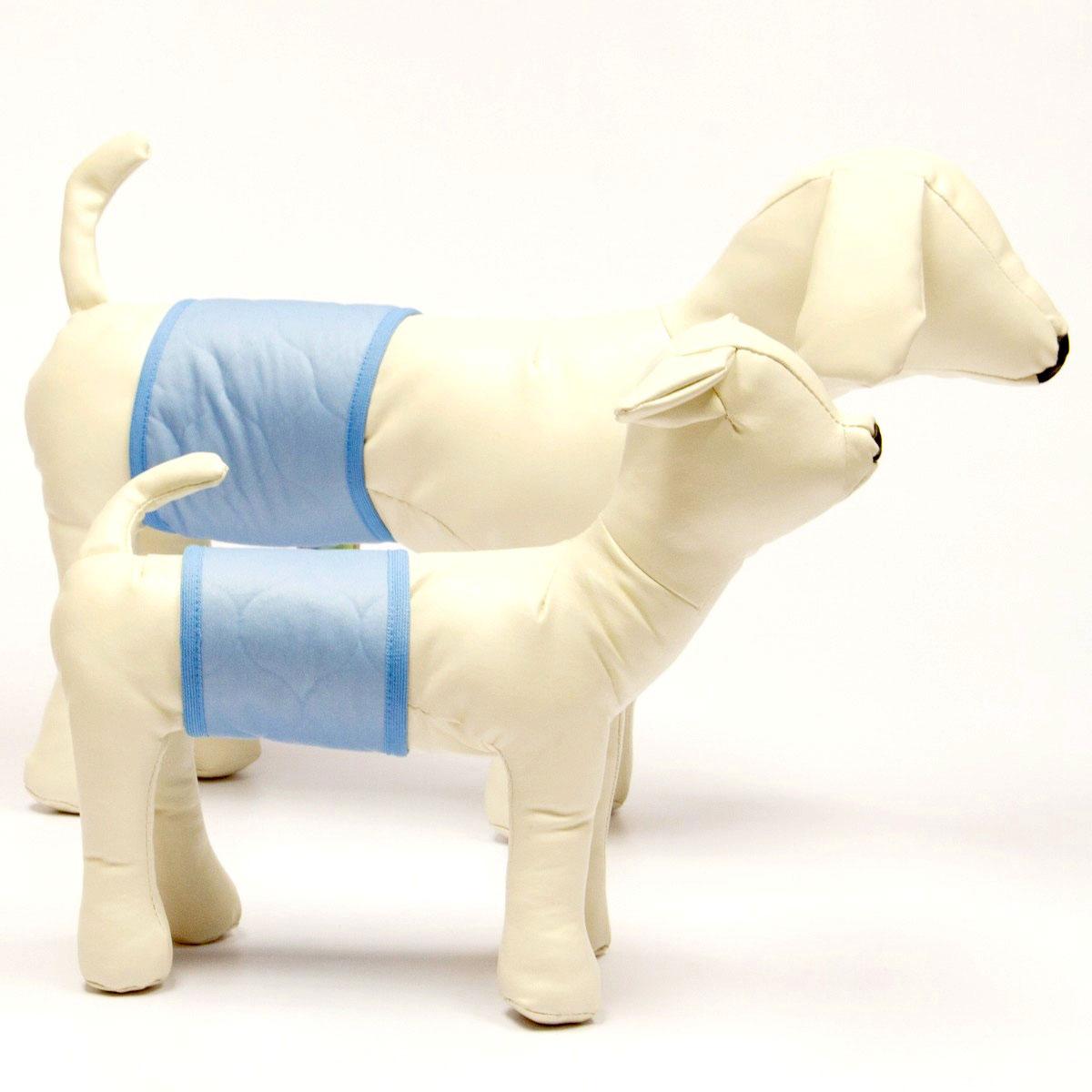 """Купить пояс для собак """"OSSO Fashion"""", для мальчика, многоразовый, впитывающий. Размер L"""